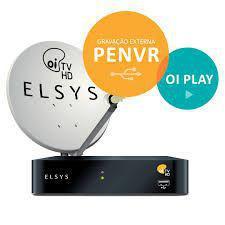 Kit Oi TV Livre Digital HD  Completo Para Instalação ( antena 75 cm ) - Elsys