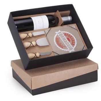 Kit Vinho Português Confidencial 750ml+ kit queijo 4 peças - Shop quality