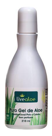 Livealoe - Puro Gel De Aloe Vera Multifuncional 210ml - Live Aloe