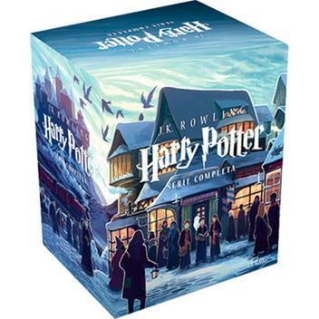 Livro Coleção Harry Potter - 7 volumes