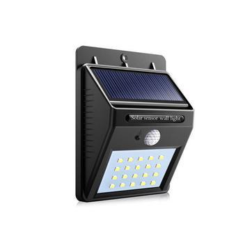 Luminária solar para parede com sensor de presença - Kit led