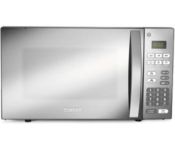 Micro-ondas Consul 20 Litros cor Inox Espelhado com Função Descongelar 220V