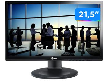 "Monitor Gamer LG 22MP55PJ-B.AWZ 21,5"" LED IPS - Widescreen Full HD HDMI 83kHz 5ms"