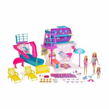 Navio Cruzeiro da Barbie - Mattel FHW46