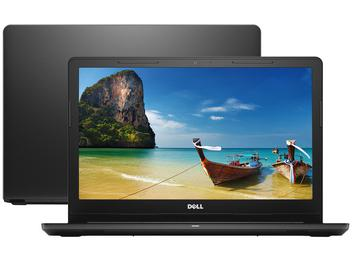 "Notebook Dell Inspiron i15-3567-D15P - Intel Core i3 4GB 1TB 15,6"" Linux"
