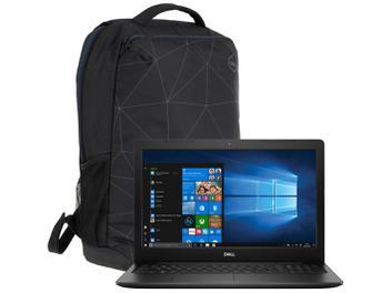 """Notebook Dell Inspiron Intel Core i7 8GB 2TB 15,6"""" - Placa de Vídeo 2GB com Mochila Dell Essential"""