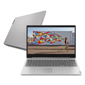 "Notebook Lenovo Ultrafino ideapad S145 Ryzen 5 8GB 1TB Linux 15.6"" 81V7S00100 Prata"