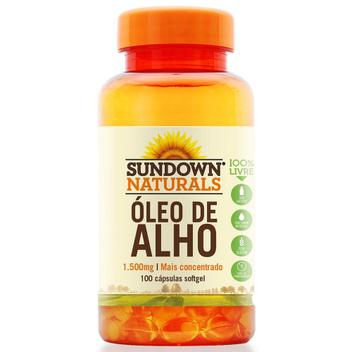 Óleo de Alho 1500mg 100 cápsulas Sundown