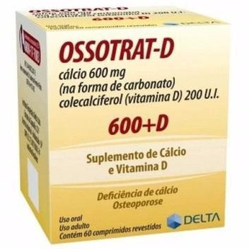 Ossotrat - D 600mg 60cp - Delta