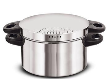 Panela Cozimento A Vapor Pudim Espagueteira Aluminio Remaza