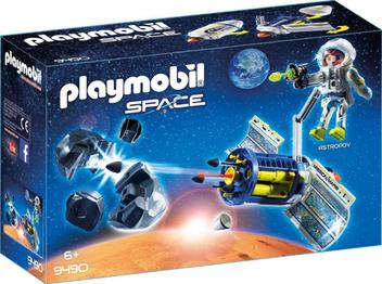 Playmobil Space - Satelite Destruidor De Meteoros 9490