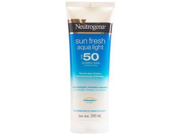 Protetor Solar Corporal Neutrogena FPS 50 - Sun Fresh Aqua Light 200ml