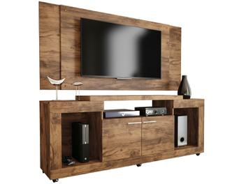 Rack para TV com Painel até 55 2 Portas