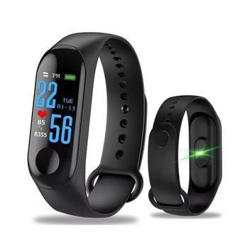 Relógio Inteligente Smartband M3 Bluetooth Frequência Cardíaca Pedômetro - Diversos
