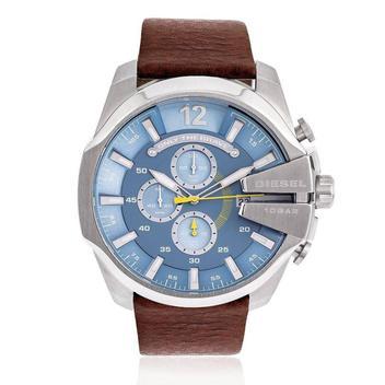 Relógio Masculino Diesel Analógico DZ4281/OAN Aço com fundo azul
