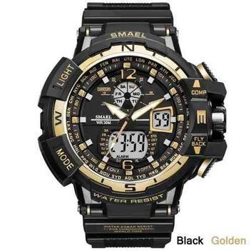 Relógio Masculino Militar G-shock Smael Ws1376 Prova Dágua