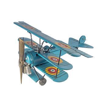 Réplica de Avião Três Asas Mini Azul - Goods br