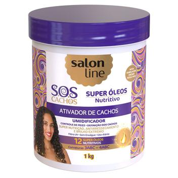 Salon Line S.O.S Cachos Super Óleos Nutritivos - Ativador de Cachos