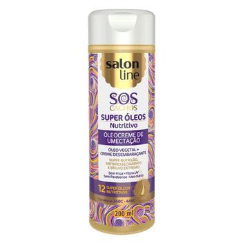Salon Line S.O.S Cachos Super Óleos Nutritivos Creme De Umectação 200ml
