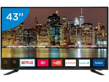 """Smart TV LED 43"""" Philco PTV43E60SN Full HD - Conversor Digital Wi-Fi 3 HDMI 2 USB"""