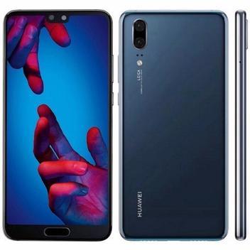 Smartphone Huawei P20 Eml L29 64GB / 4G / Dual Sim / Tela 5.8EQUOT / Cameras 20MP + 12MP e 24MP - Azul