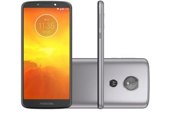 Smartphone Motorola Moto E5 32GB Platinum 4G - Quad Core 2GB RAM Tela 5,7� Câm. 13MP + Selfie 5MP