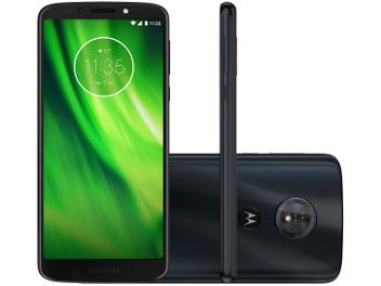 Smartphone Motorola Moto G6 Play 32GB Indigo - Dual Chip 4G Câm 13MP + Selfie 8MP Flash Tela 5,7""