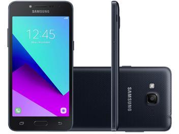 "Smartphone Samsung Galaxy J2 Prime 16GB Preto 4G - 1,5GB RAM Tela 5"" Câm. 8MP + Câm. Selfie 5MP"