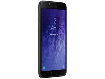 Smartphone Samsung Galaxy J4 16GB Preto - Dual Chip 4G Câm. 13MP + Selfie 5MP Flash