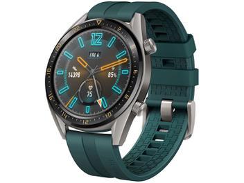 Smartwatch Huawei Active Edition - Watch GT Verde Escuro 128MB - Magazine Ofertaesperta
