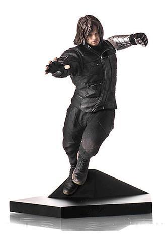 Soldado Invernal Winter Soldier 1:10 Iron Studios