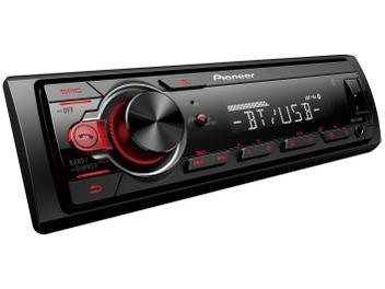Som Automotivo Pioneer MVH-S218BT Bluetooth - MP3 Player Rádio AM/FM USB Auxiliar