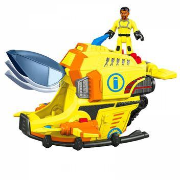 Submarino das Profundezas Imaginext - Mattel DFY00