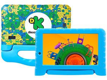 "Tablet Multilaser Discovery Kids 8GB 7"" Wi-Fi - Proc. Quad-Core Android 7.0 Câmera Integrada - Magazine Ofertaesperta"