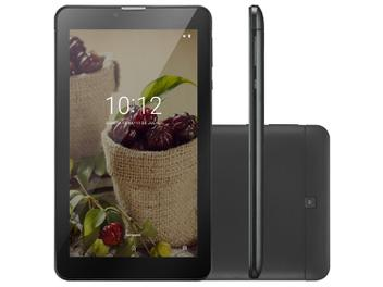 "Tablet para Idoso Multilaser M7 3G Plus 8GB 7"" - 3G Wi-Fi Android Oreo Quad Core"