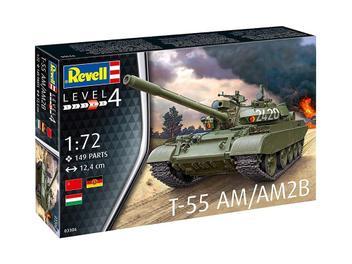 Tanque T-55 AM / AM2B 03306 - REVELL ALEMA - Brand