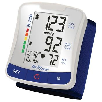 Techline Medidor de Pressão Pulso BP2208