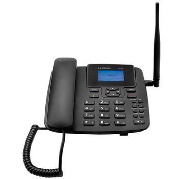 Telefone Celular Fixo CF4201 GSM com Identificador de Chamada, Viva Voz - Intelbras