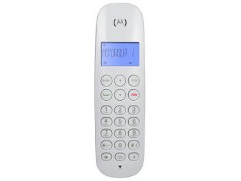 Telefone Sem Fio Motorola MOTO700-W - Identificador de Chamada Branco
