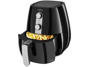 Fritadeira Elétrica Sem Óleo/Air Fryer Fama - Air Fry Preta 2,9L com Timer