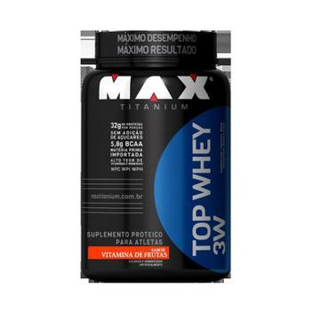 Top Whey 3W 900g Max Titanium - Proteina