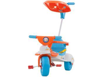 Oferta ➤ Triciclo Infantil com Empurador Xalingo – Multi Care Girl 3 x 1 com Porta Objetos (cód. 213582500)   . Veja essa promoção
