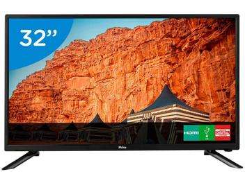 "TV LED 32"" Philco PTV32B51D - Conversor Digital 2 HDMI 2 USB"