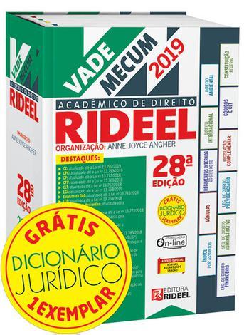 Vade Mecum Acadêmico de Direito Rideel - 28ª Edição (2019)