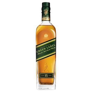 Whisky Escocês Green Label 15 Anos Garrafa 750ml Litro - Johnnie Walker