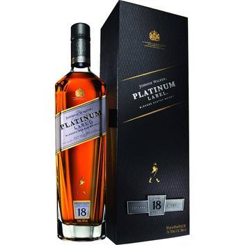 Whisky Johnnie Walker Platinum Gold Label 750ml