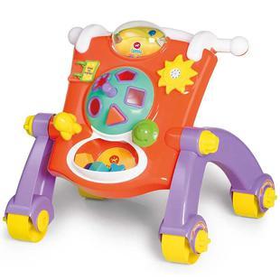 Brinquedo Andador Didático Calesita 3 em 1