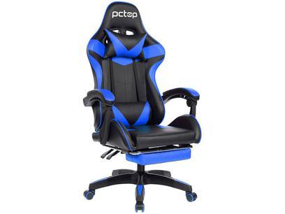 Cadeira Gamer PCTop Azul Racer 1006