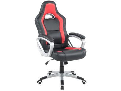 Cadeira Gamer Travel Max - Preta e Vermelha
