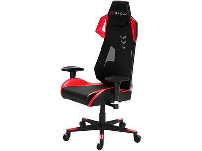 Cadeira Gamer XT Racer Reclinável - Preta e Vermelha Armor Series XTA100